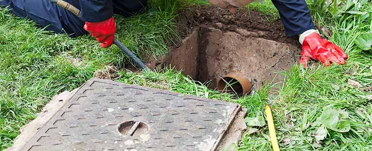 Manhole Cover Open