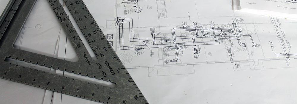 Drain construction plan